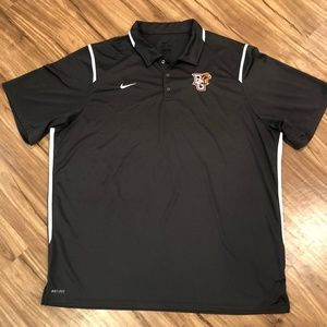 Nike Dri-Fit Bowling Green Falcons Gray Polo XXXL